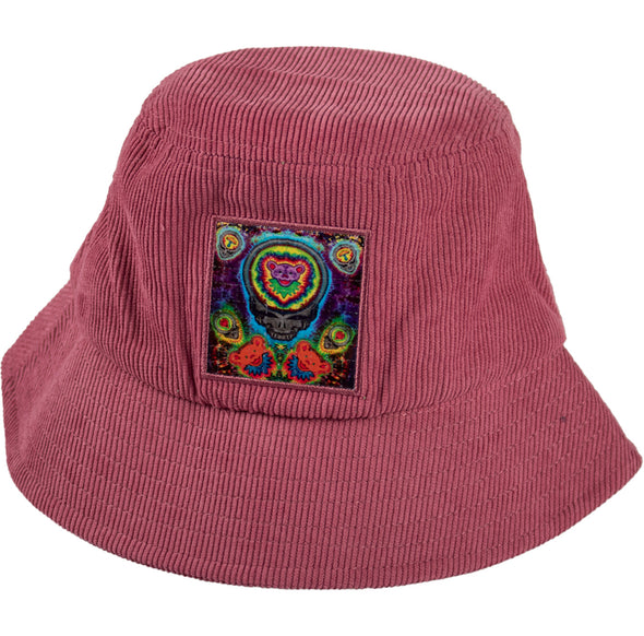 L.S.D. Blotter Bucket Hat - Electric Stealie