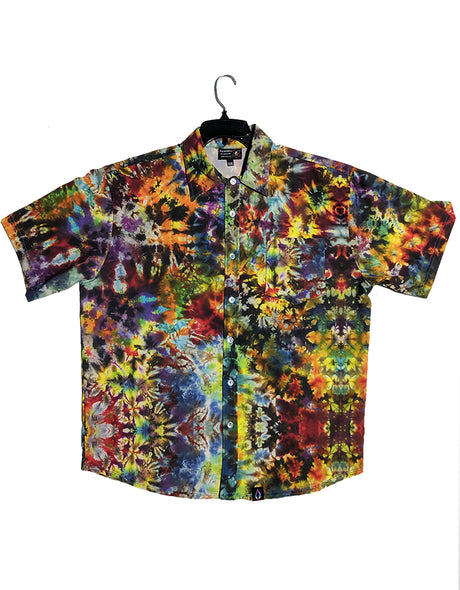 Button Up Shirt - Hawaiian Crunch