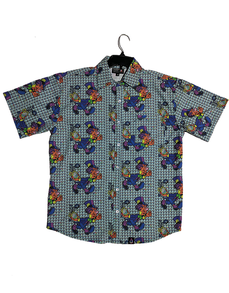 Button Up Shirt - Mad Hatter
