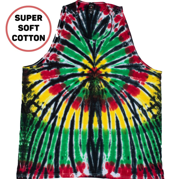 Rasta Spider Tank Top