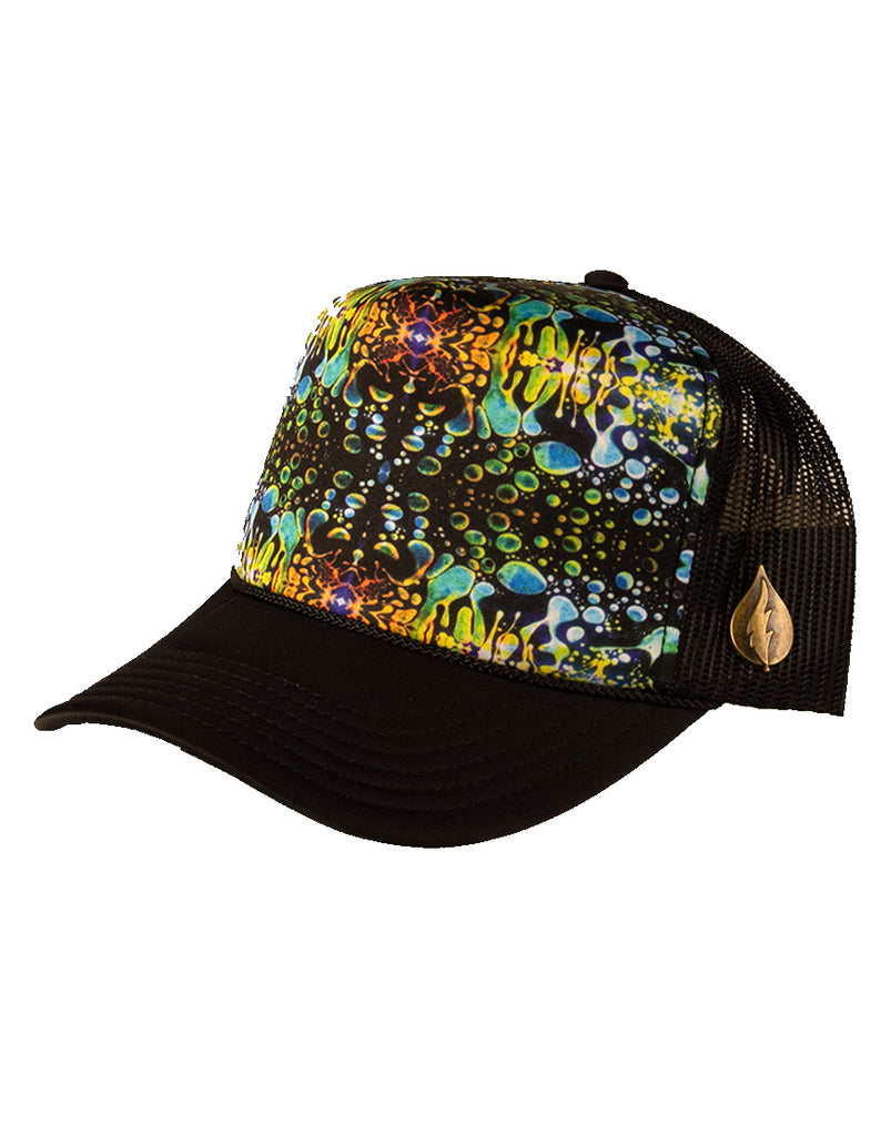2019 Trucker Hat - Green Liquid Light