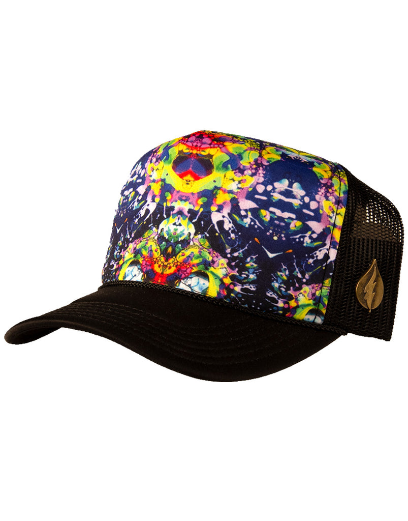 2019 Trucker Hat - Galaxy Liquid Light
