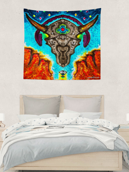 Ox Music Tapestry