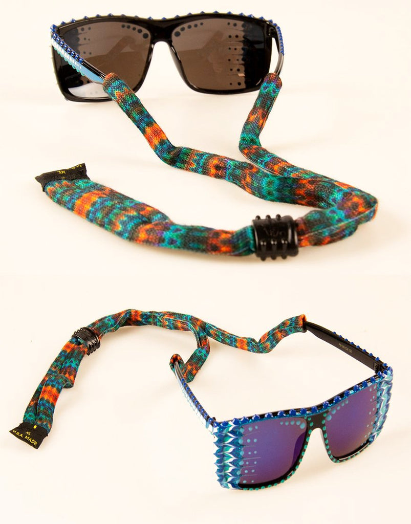 Croakies Suiters - Orange Tribal