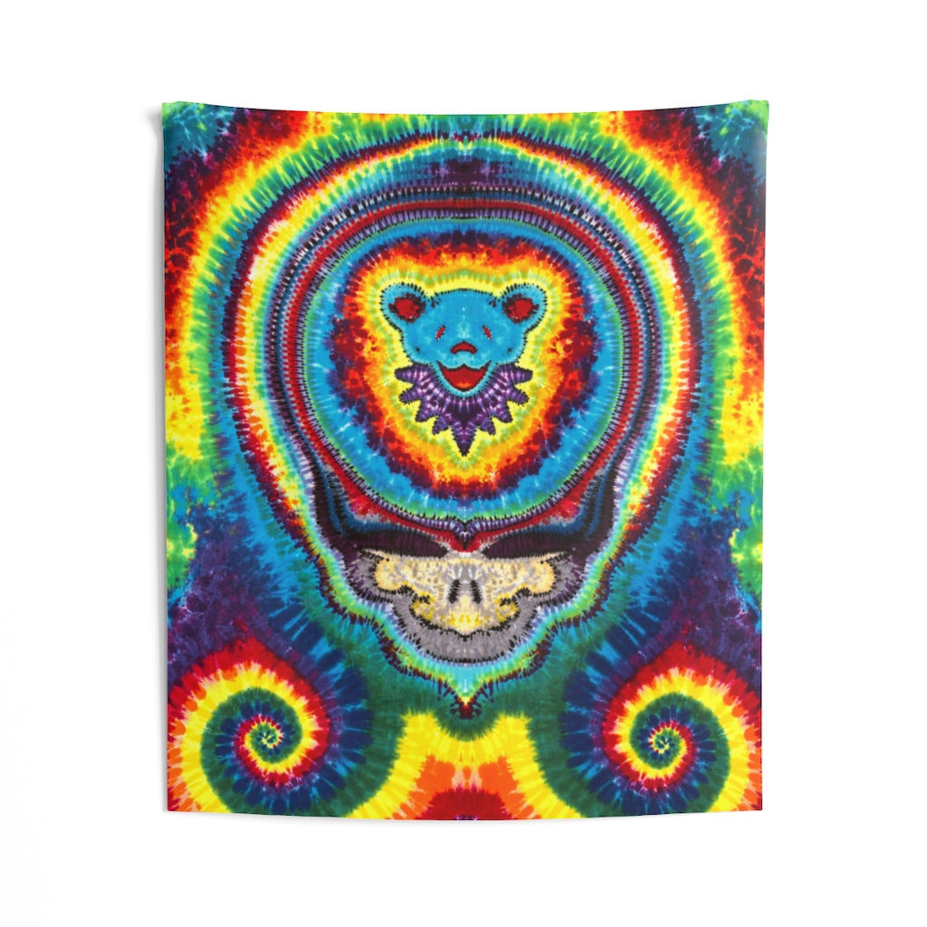 Rainbow Stealie Tapestry