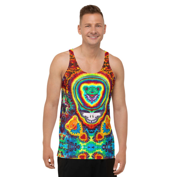 Jeremys Bears All Over Print Tank Top