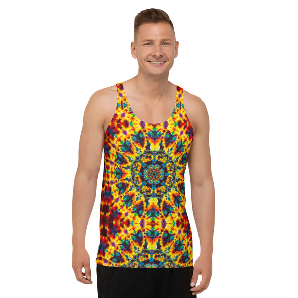 Lions Mane All Over Print Tank Top