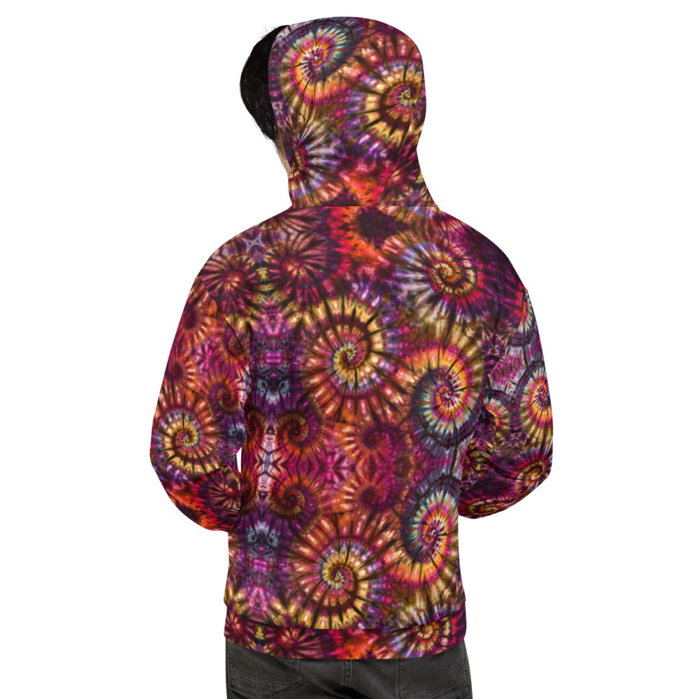 Autumn Spiral All Over Print Hoodie