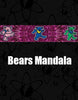 Croakies Suiters - Dancing Bears Mandala