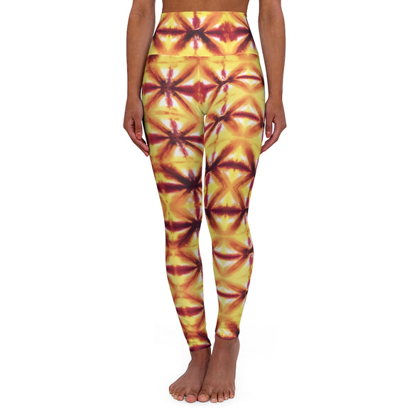 Yellow Hourglass Leggings