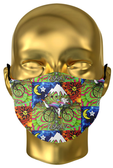 Bicycle Day Premium Face Mask