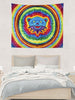 Blue Bear Tapestry