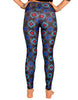 Black & Blue Diamond Legging - NEW Jammin UNO Collection