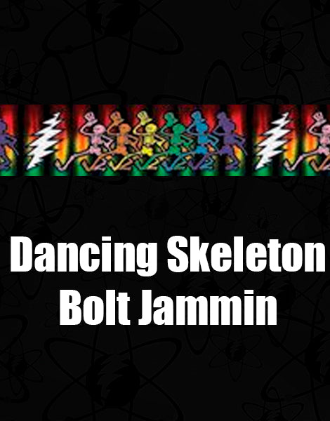 Croakies Suiters - Dancing Skeletons Bolt Jammin