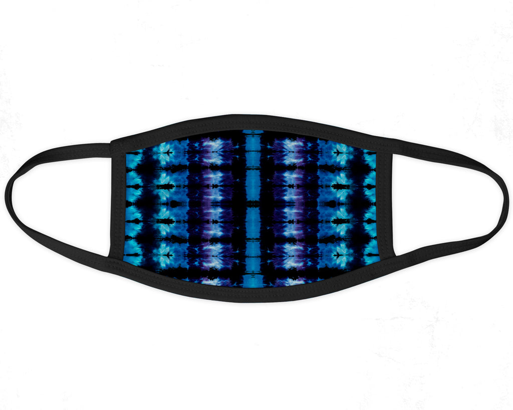 Electric Blue Eco Face Mask