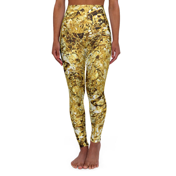 Golden Liquid Light Leggings