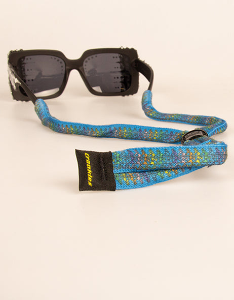 Croakies Suiters - Dancing Skeletons Blue