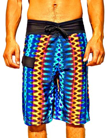 Golden Tribal Boardshorts