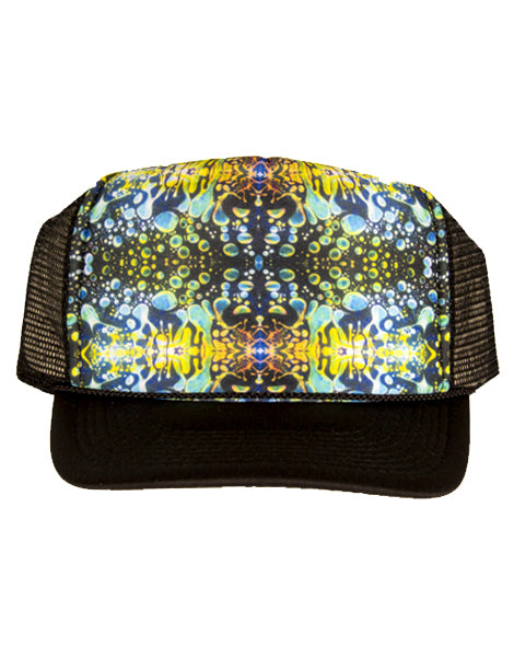 Trucker Hat - Green Liquid Light