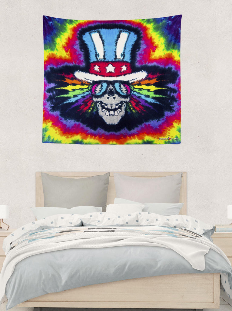 Electric Uncle Sam Tapestry