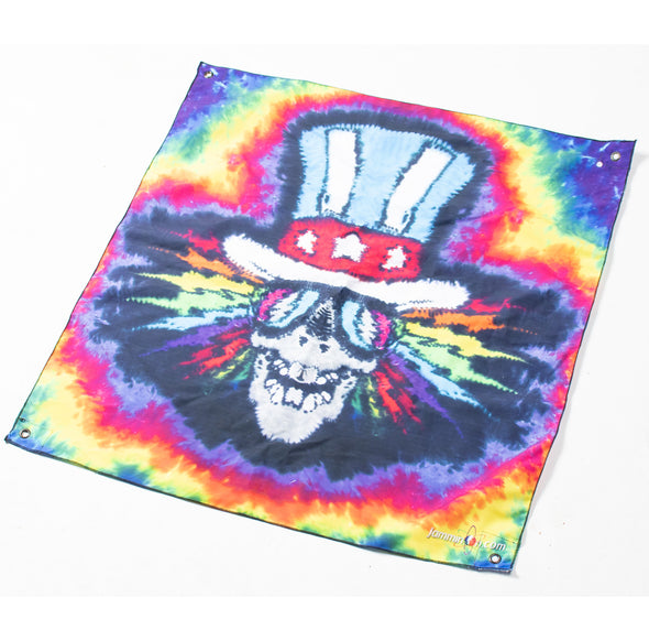 *LOT SALE* Electric Uncle Sam Tapestry - 2.5' x 2.5'