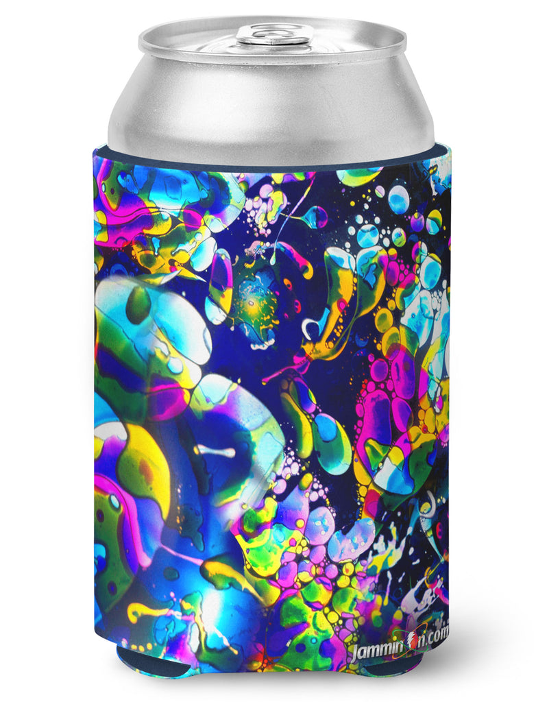 Koozie - Rainbow Liquid Light