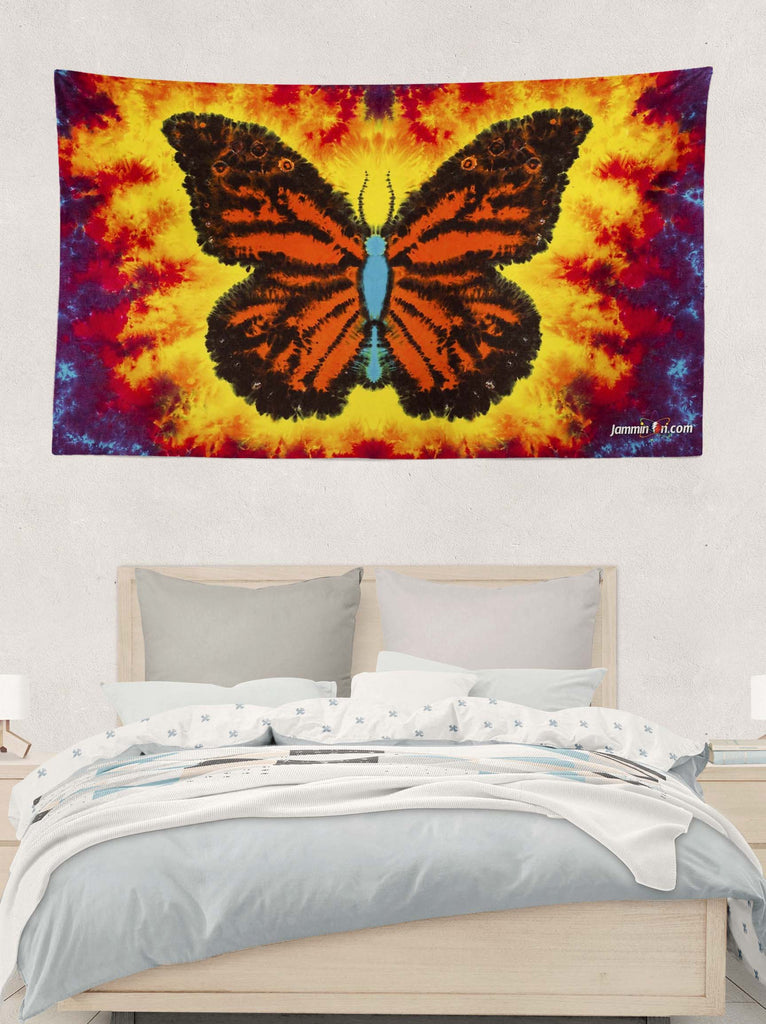 Monarch Butterfly Tapestry - 5'x3'