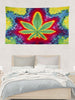 Pot Leaf Tapestry - 5'x3'