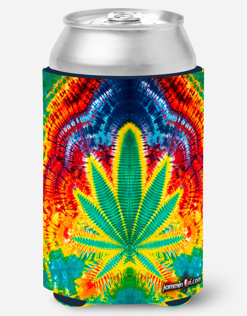 Koozie - Rainbow Leaf