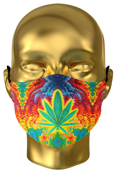 Rainbow Leaf Premium Face Mask