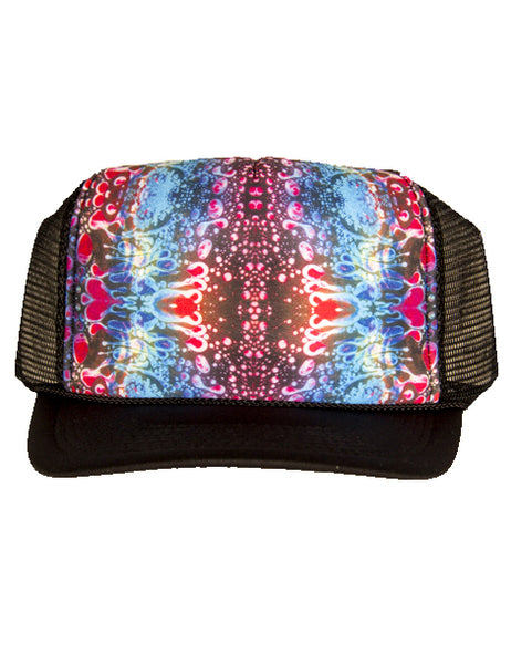 Trucker Hat - Red Liquid Light