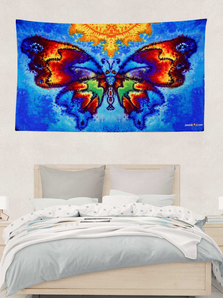 Sunshine Butterfly Tapestry 3'x5'