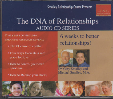 DNA of Relationships Audio on CD