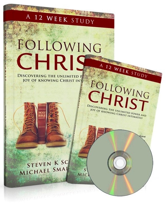 Following Christ DVD Study with 2 Workbooks