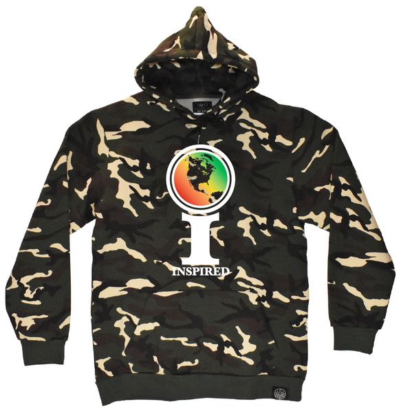 Tall T x Inspired - Camo Hoodie