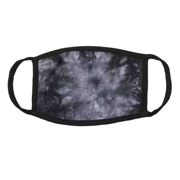 Face Mask - Black Crystal / Blank