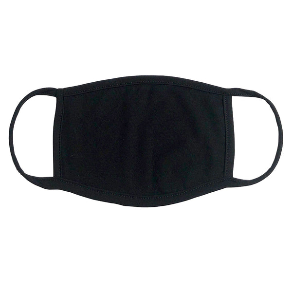 Face Mask - Black / Blank