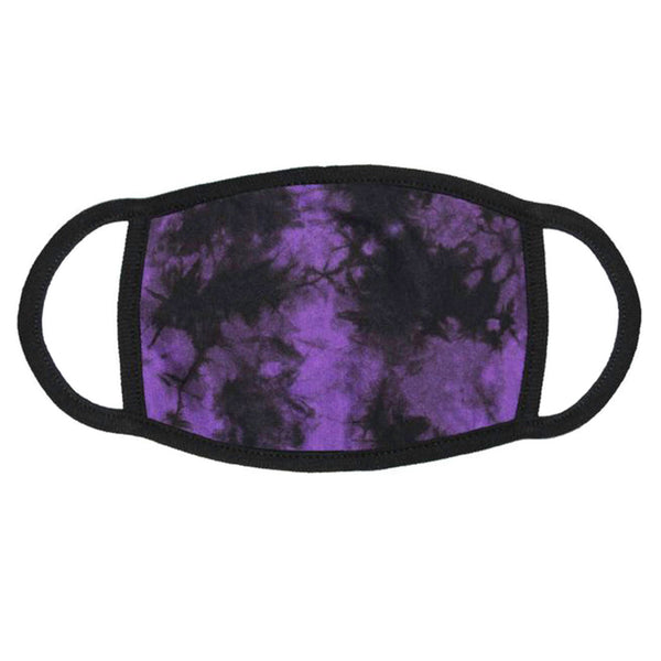 Face Mask - Purple Crystal / Blank