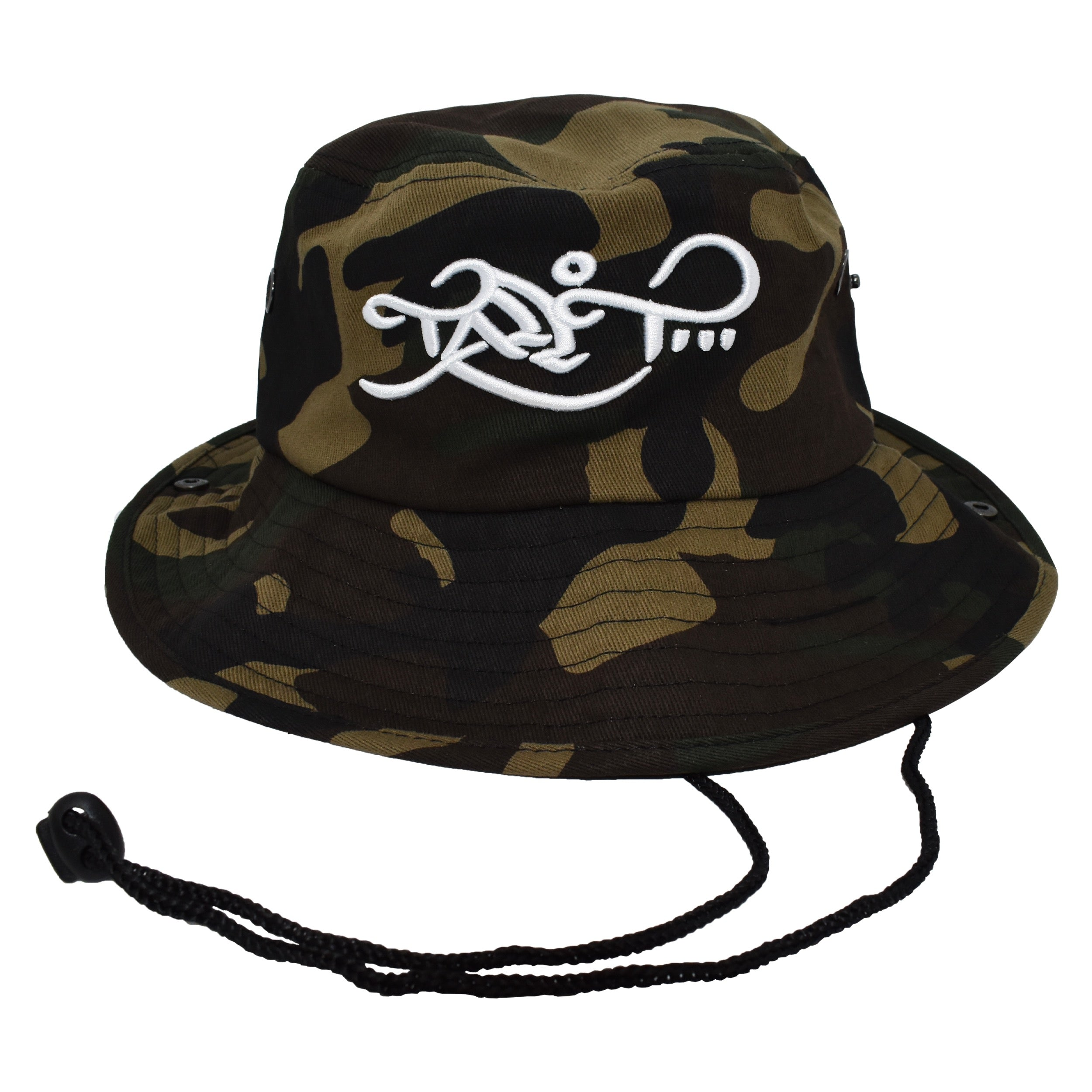 Bucket Hat Green Camo Tall T Productions