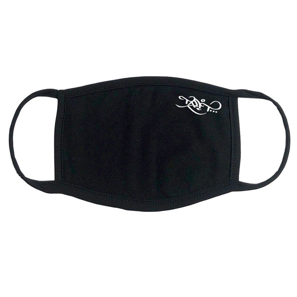 Face Mask - Logo / Black
