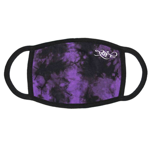 Face Mask - Logo / Purple Crystal