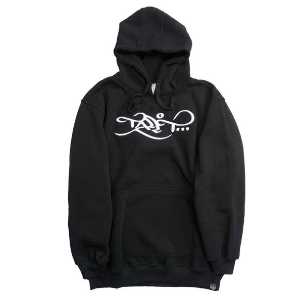 Limited Edition Logo Hoodie - Black / White