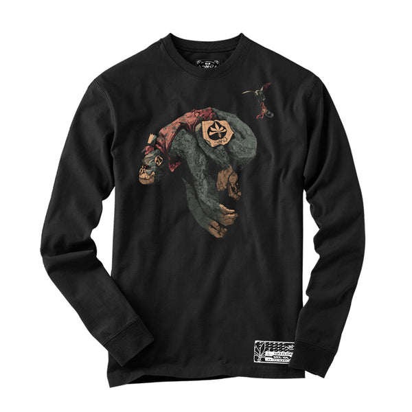 Long Sleeve - Howler Gorilla - Black