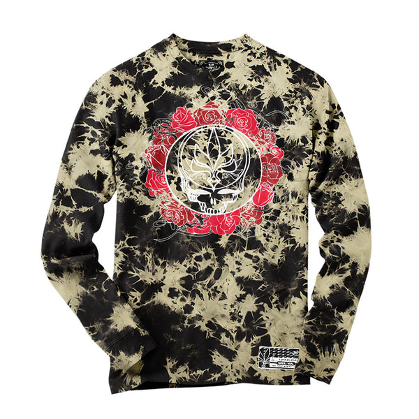 Long Sleeve - Acid Wash - Steal Your Face