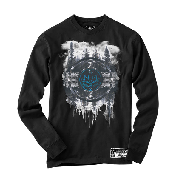 Nature - Long Sleeve - Black