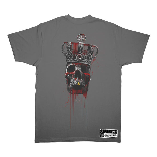 Tall T X Royal Outerwear - Undead Royalty - Dark Grey