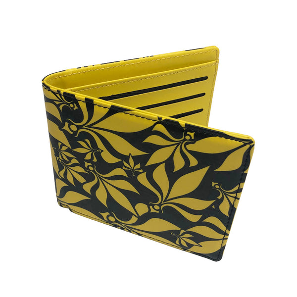 Wallet - Yellow / Black