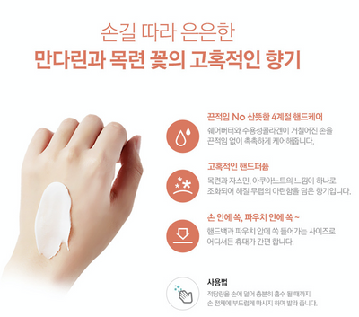 Coral Passion Nourishing Hand Cream