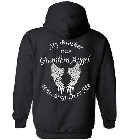 Brother Guardian Angel Pullover Hoodie