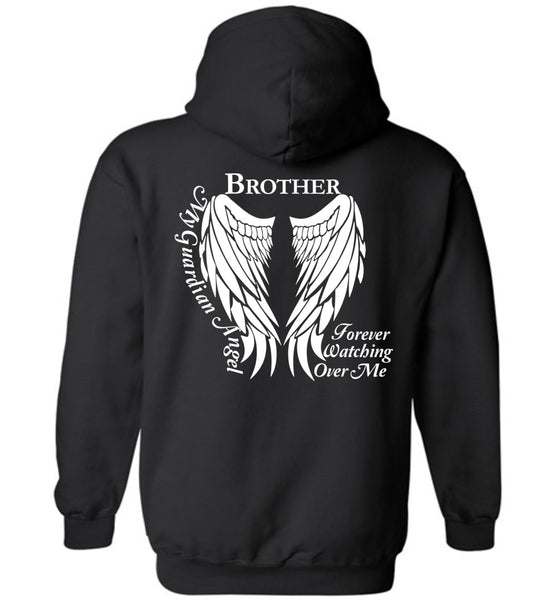 Brother Guardian Angel Forever Watching Over Me - Pullover Hoodie